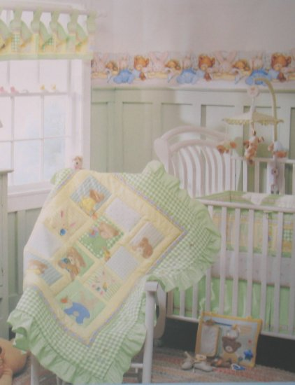 CUTE CARTERs JOY HIDE n SEEK 4 PIECE BABY NURSERY CRIB BEDDING SET