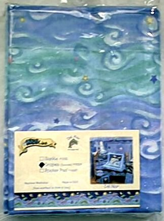 RARE NIP KIDSLINE DEL MAR Ocean Waves DRAPES SET Curtains