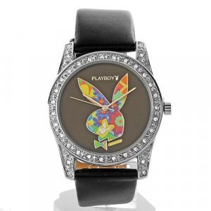 PLAYBOY Brand New Watch With Genuine Crystals  ** retail: $350.00