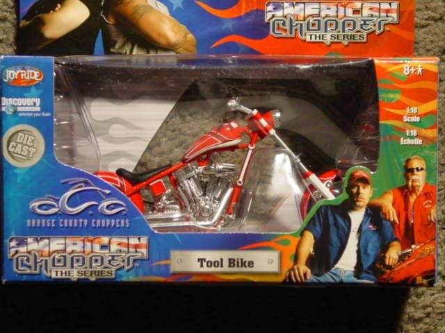 1:18 Scale Orange County Choppers Tool Bike
