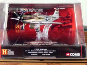 1:72 Scale Diecast WW2 P-51D Mustang