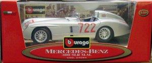 1:18 Scale Diecast Mercedes-Benz 300 SLR M.M.