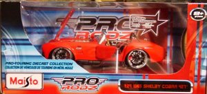 1:24 Scale Maisto Pro Rodz '65 Shelby Cobra '427' Red