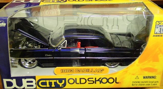 Dub City 1:24 Scale 1963 Cadillac 2 Door Low Rider