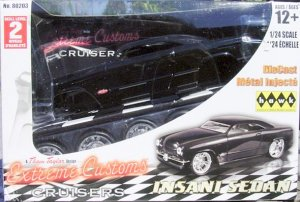 1:24 Scale Model Car Kit 'Insani Sedan' Extreme Custom Car