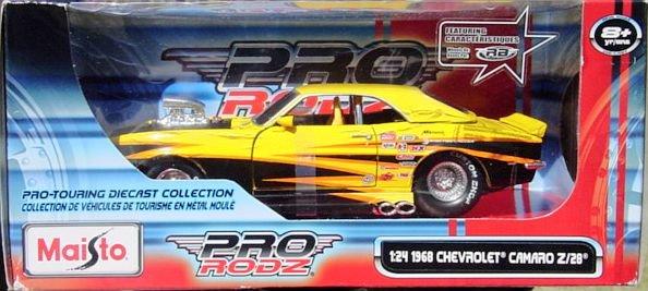 1:24 Scale Maisto Pro Rodz 1968 Chevy Camaro Z28