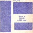 A Little Bitty Tear by Hank Cochran 1960 Sheet Music - 0147