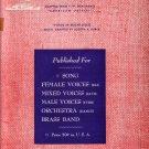 We Must be Vigilant, Adaption of American Patrol 1942 Vintage Sheet Music - 0150