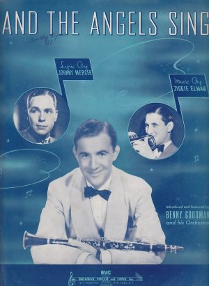 And the Angels Sing 1939 Piano Vintage Sheet Music - 0159