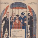 Piano Composition from the Musical Play Tumble In, 1919 Vintage Sheet Music - 0158