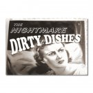 My Original Clean Dirty Dishwasher magnet Flip Sign Are Back! NIGHTMARE Comics Funny humor