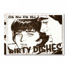 My Original Clean Dirty Dishwasher magnet Flip Sign Are Back! Sweet Comics Funny humor