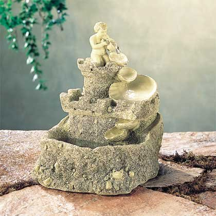 Sandcastle Water Fountain