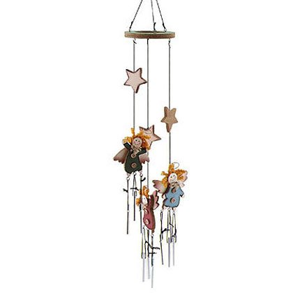 Wood Angels Wind Chimes