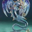 Glass Sculpture Medieval Dragon