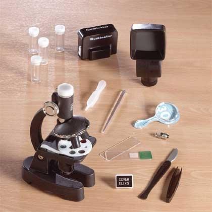 34-Piece Microscope Set