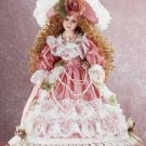 "18"" Porcelain Victorian Doll - Desiree"