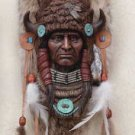 Buffalo Headdress Wall Plaque