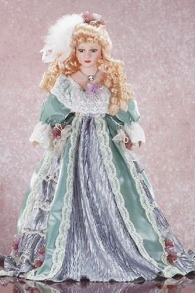 "22"" Porcelain Victorian Doll - Alicia"