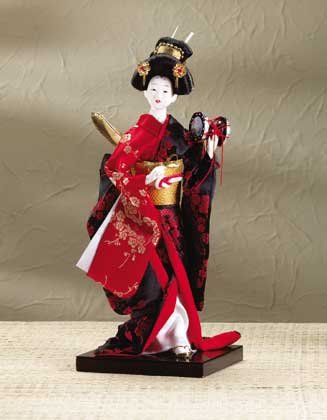 Japanese Drummer Doll