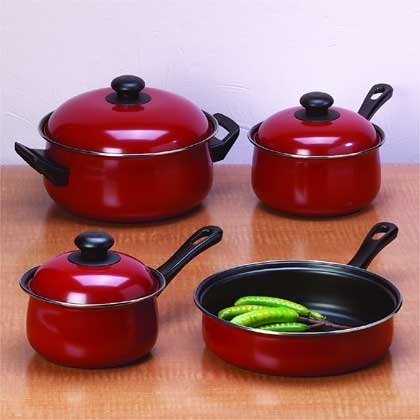 7 Pc Non Stick Cookware Set