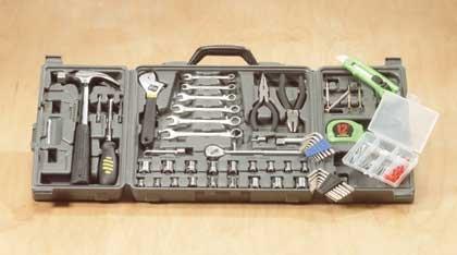 135-Piece Tool Set