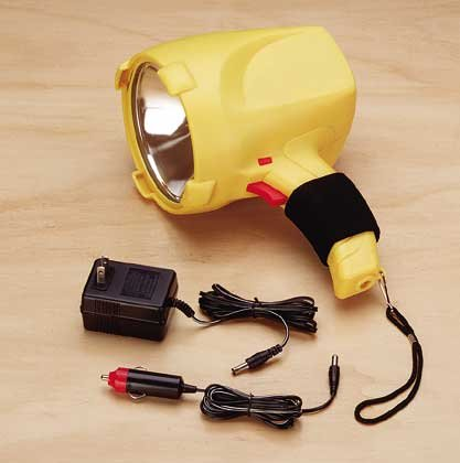 Rechargeable Flashlight Spotlight