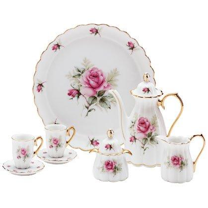 Rose Doll Tea Set