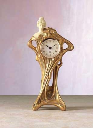 Art Nouveau Style Clock