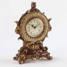 Wicker Pattern Antique-Look Clock