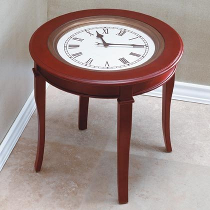 Round Clock Top Table