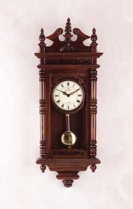 Wood Pendulum Wall Clock