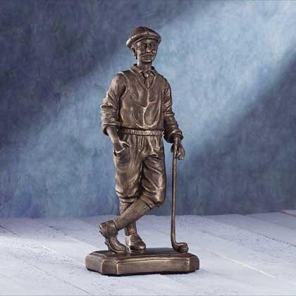 "Liberty Bronze"" Golfer"