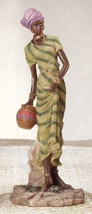 African Lady With Pot