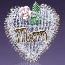 Mom Heart and Flower