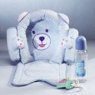 Blue Baby Gift Set with Headrest