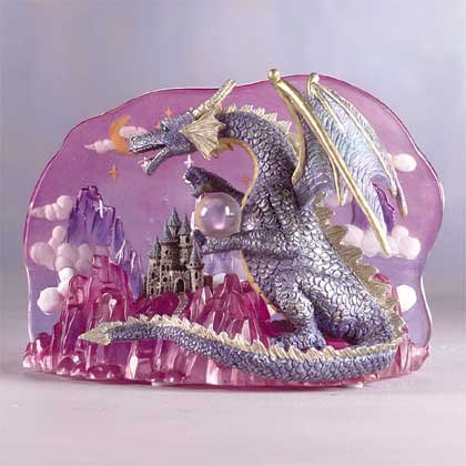 Dragon-Castle Clear Back