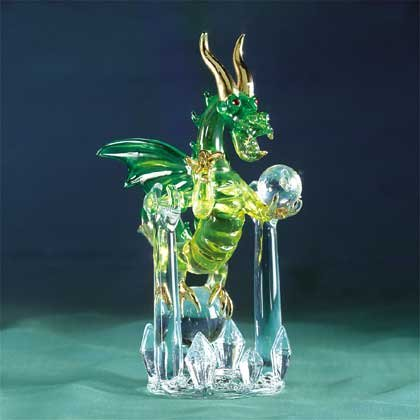 Glass Swinging Dragon