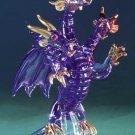 Purple Glass Three-Headed Dragon