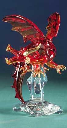 Red Glass Dragon