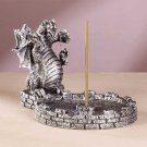 Three-Headed Dragon Incense Holder