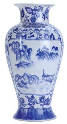 Oriental Vase - Blue & White