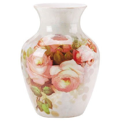 Floral Patchwork Vase