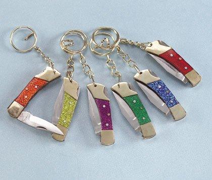 Key Ring Pocket Knife
