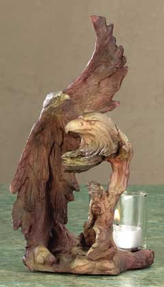 Eagle Spirit Candle Holder