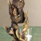 Wolf Spirit Candle Holder
