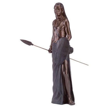 Maasai Warrior Statue