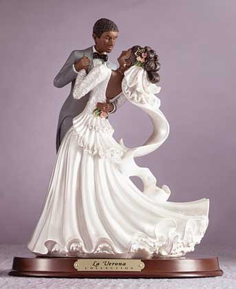 Afro-American Bride & Groom
