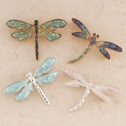Dragonfly Pins