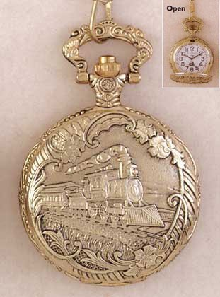 Pocket Watch - Train